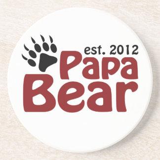 papa bear claw 2012 coaster