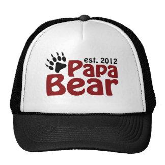 papa bear claw 2012 mesh hats