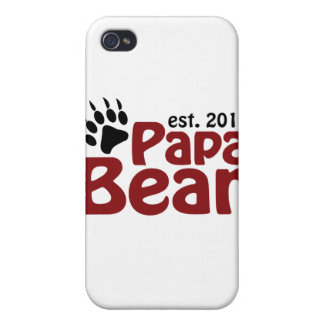 papa bear claw 2012 iPhone 4/4S cover