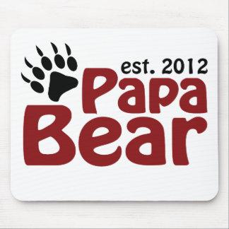 papa bear claw 2012 mouse pad