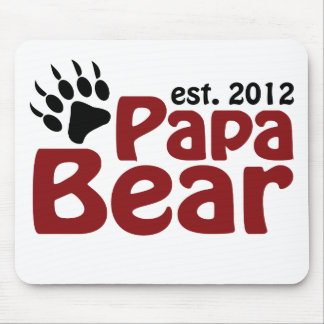 papa bear claw 2012 mouse pads