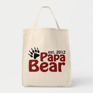 papa bear claw 2012 tote bag