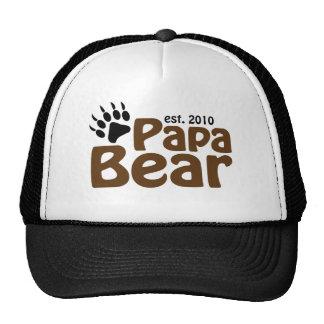 papa bear claw est 2010 hat