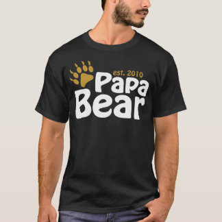 papa bear claw est 2010 T-Shirt