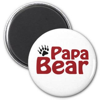 Papa Bear Claw Refrigerator Magnet