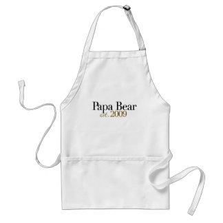 Papa Bear Est 2009 Standard Apron