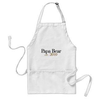 Papa Bear Est 2010 Standard Apron