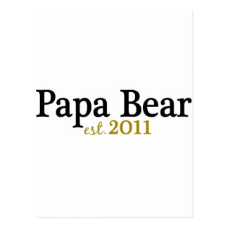 Papa Bear est 2011 Post Card