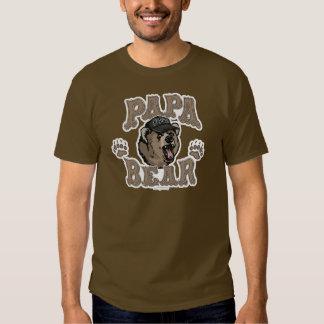Papa Bear Father's Day Gear T-shirt