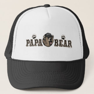Papa Bear Father's Day Gear Trucker Hat