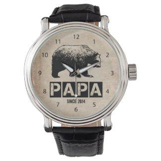 Papa Bear for Dad 2014, Grunge Black Watch