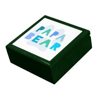 Papa bear keepsake boxes