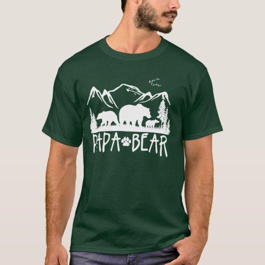Papa Bear- Great Outdoors TShirt (for Dark