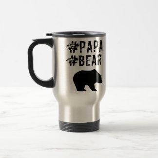 Papa Bear hashtag mug