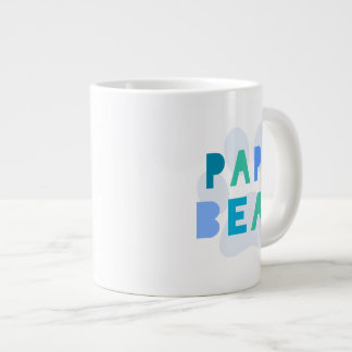 Papa bear large coffee mug