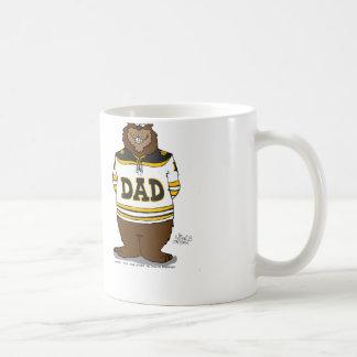 Papa Bear Basic White Mug