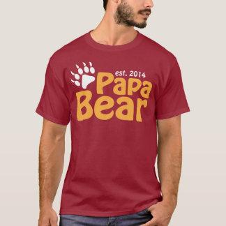 Papa Bear New Dad 2014 T-Shirt