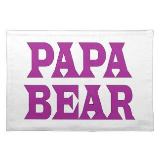 Papa Bear Placemats