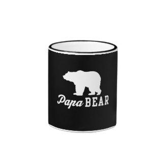 Papa Bear Ringer Mug
