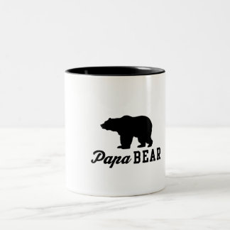 Papa Bear Two-Tone Mug
