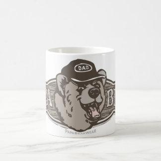 Papa Bear Wear Logo Basic White Mug
