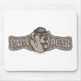 Papa Bear Wear Logo Mouse Pad