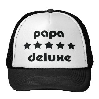 papa deluxe icon cap