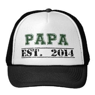 Papa, Established 2014 Cap