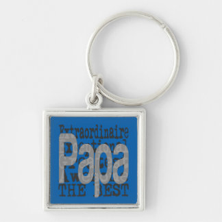 Papa Extraordinaire Key Ring