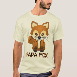 Papa Fox - Fox Family T-shirts