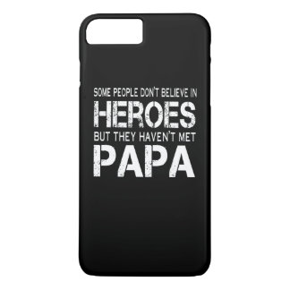 PAPA IS MY HERO iPhone 7 PLUS CASE