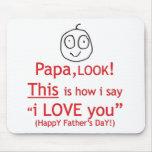 PaPa Look! Mouse Mat