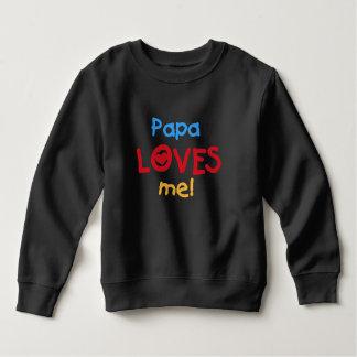 Papa Loves Me T Shirts