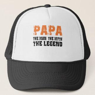 Papa (Orange) Cap