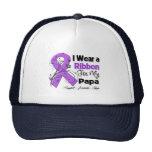 Papa - Pancreatic Cancer Ribbon Trucker Hats