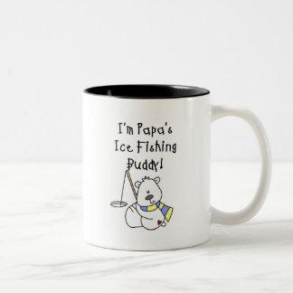 Papa s Ice Fishing Buddy Tshirts and Gifts Coffee Mugs