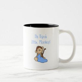 Papa s Little Monkey - Blue Tshirts and Gifts Mugs