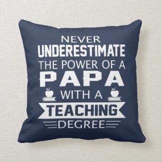 Papa Teacher Cushion