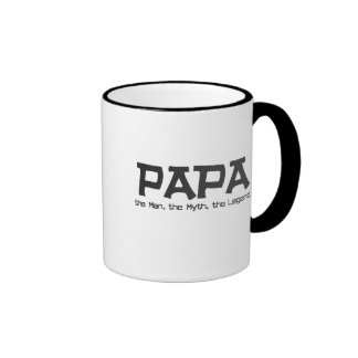Papa the Man the Myth the Legend Gifts Mug