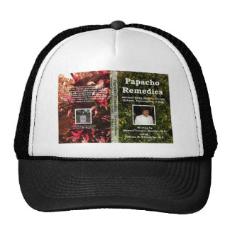 Papacho Remedies Book Cover Cap