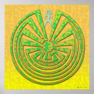 Papago Maze Poster