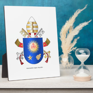 Papal Coat of Arms Plaques
