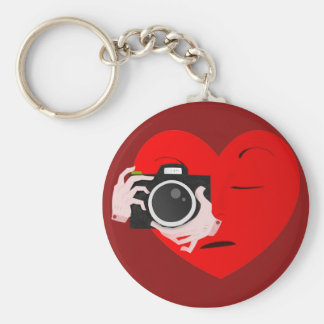 paparazzi valentine basic round button key ring