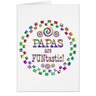 Papas are FUNtastic Greeting Card