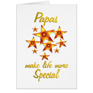 Papas are Special Card