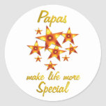 Papas are Special Stickers