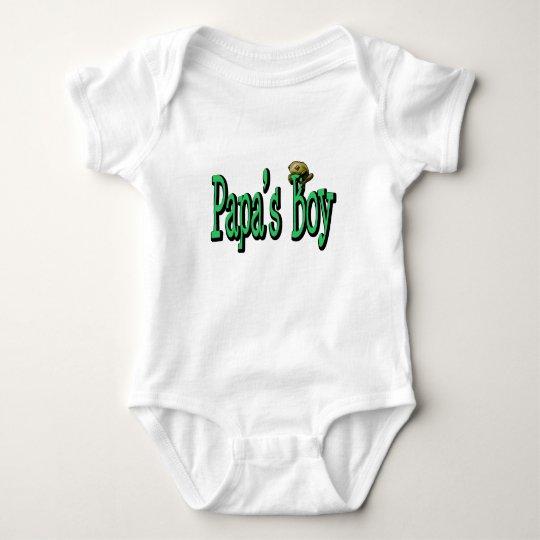 Papa's Boy Baby Bodysuit