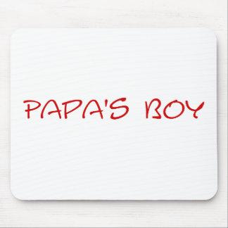Papa's Boy Mousepad