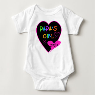 Papa's Girl Tees, Hats, Mugs, Buttons, clothing Baby Bodysuit