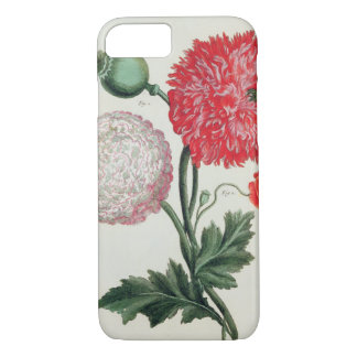 Papaver somniferum and Papaver rheas engraved by G iPhone 8/7 Case